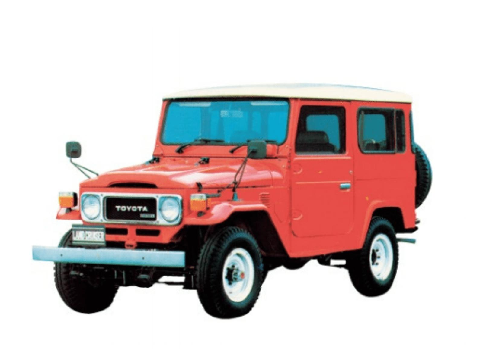 図1 トヨタ「ランドクルーザー40系」 生産は1960年から84年。(出所:トヨタ自動車)