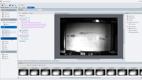 図1 画像処理ソフト「VisionPro 10.0」