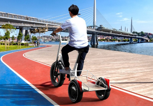 電動自転車のDYNAMIC CARGO:通常のカーゴタイプ