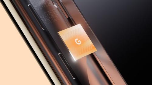 グーグルのスマホ向けSoC「Tensor」のイメージ