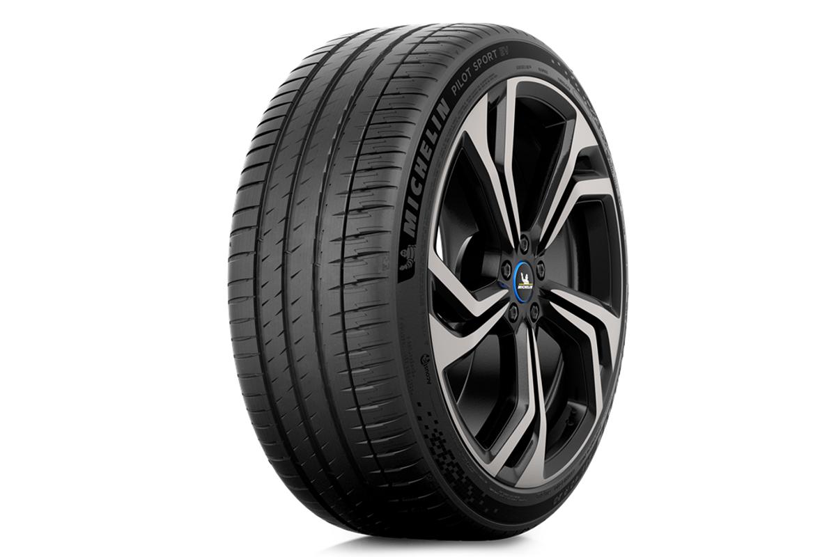 Michelinの電動スポーツ車向けタイヤ「MICHELIN PILOT SPORT EV」 (出所:日本ミシュランタイヤ)