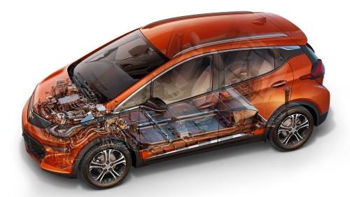 2017年型Chevrolet「Bolt EV」(出所:GM)