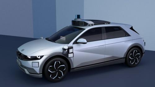 現代自動車とモーショナルのロボタクシー向け車両