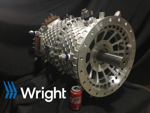 ライト・エレクトリックの2MWのモーター