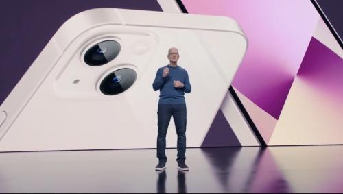 アップルがiPhone 13などの新製品を発表(出所:米Apple、以下同じ)
