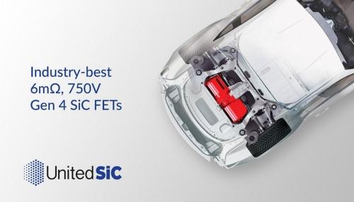 発売した+750V耐圧SiC FETの応用イメージ