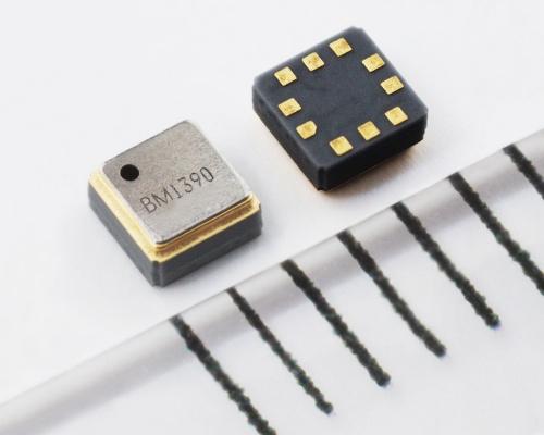 外形寸法が2.0mm×2.0mm×1.0mmと小さいMEMS圧力センサー