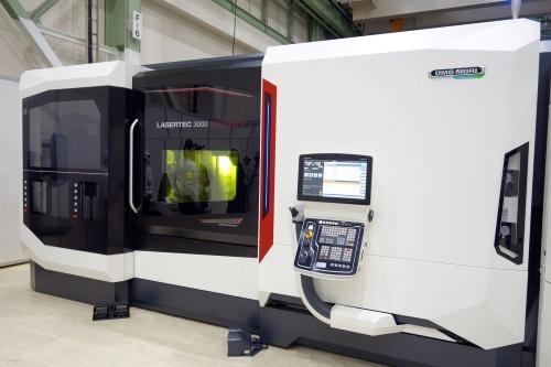 金属アディティブ製造の新製品「LASERTEC 3000 DED hybrid」