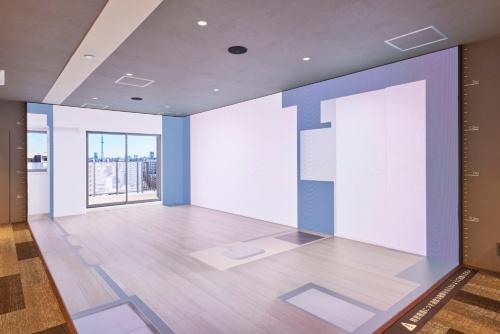 マンション販売の新拠点に日鉄興和不動産が導入した「3次元LEDシアター」