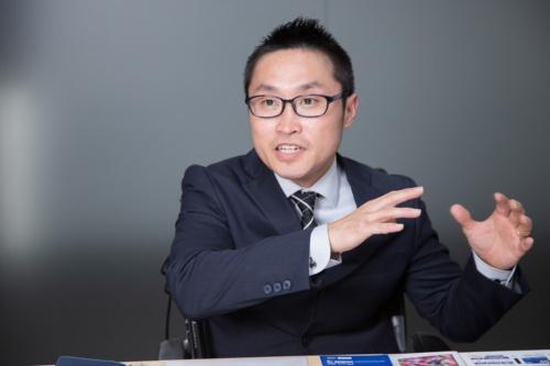 大塚商会 人事総務部 総務課 係長の吉見正之氏