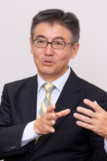 NEC デジタルネットワーク事業部 事業部長 尹秀薫氏