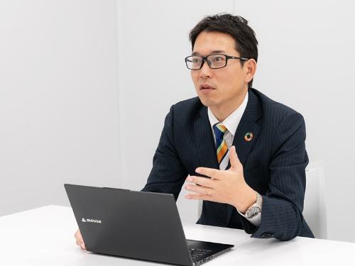 マウスコンピューター 法人営業本部 本部長 金子覚氏