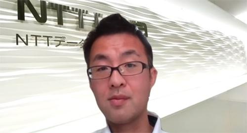 NTTデータ先端技術株式会社 ソフトウェアソリューション事業本部 AIソリューション事業部 AIサービス開発担当 担当課長 中林 篤史氏