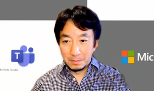 日本マイクロソフト株式会社 Microsoft 365 ビジネス本部 エグゼクティブ プロダクト マーケティング マネージャー 春日井良隆氏