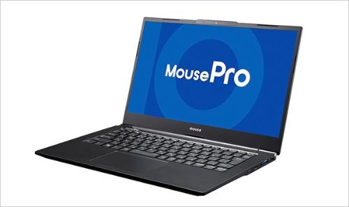 モバイルワーク、テレワークに最適な法人向けノートPC「NB4シリーズ」。本体だけでなく、ACアダプターも薄型・軽量。ディスプレイが180度開くのも特長だ