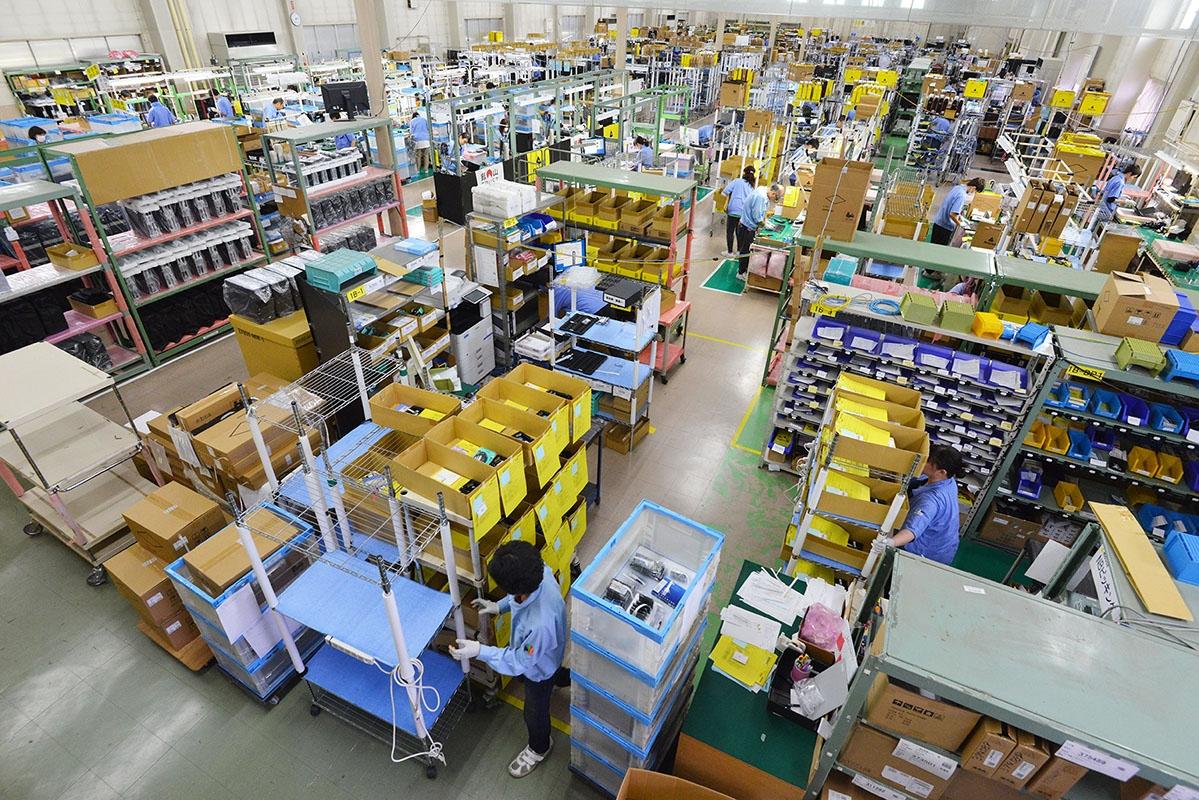 マウスコンピューターの飯山工場