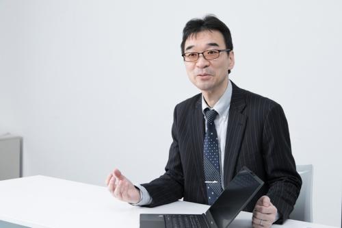 マウスコンピューター マーケティング本部 製品部 エキスパートの小林俊一氏